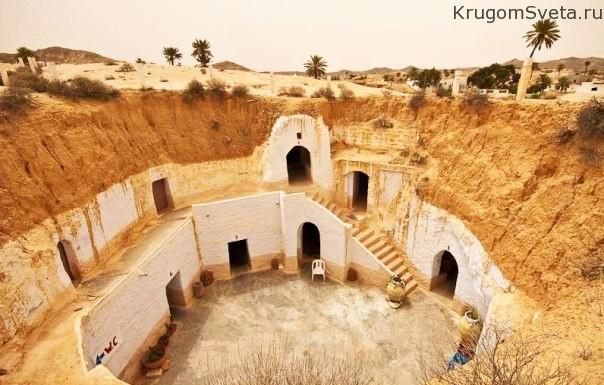 пещеры троглодитов