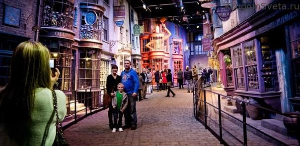 Лондон музей Гарри Поттера