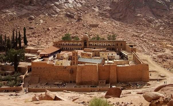 Монастырь Святой Екатерины Шарм-эль-Шейх