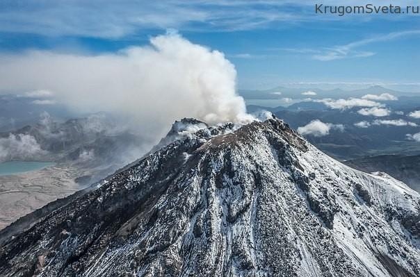 vulkan-region-von-kamtschatka