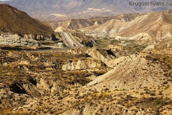 пустыня Альмерия