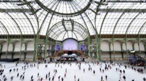 В Париже открылся самый большой в мире крытый каток