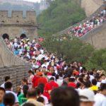 Великая Китайская стена вновь принимает туристов