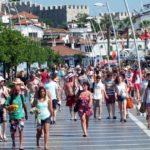 Анталию в ноябре посещают в основном туристы из России